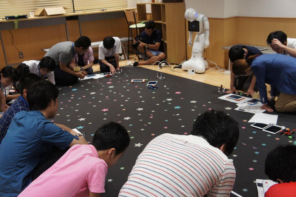 第一学院高等学校のオープンスクールで「VR」作りを体験!
