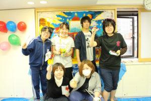 アニメ・イラスト学部の展示