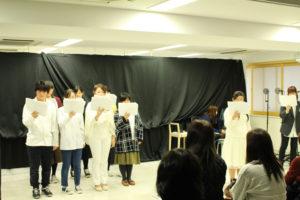 声優学部の生徒たちによるオリジナル朗読劇