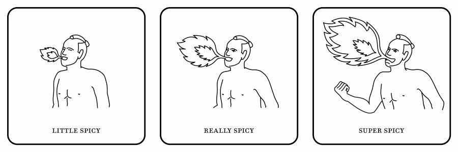 <SPICY(小辛・中辛・大辛)>