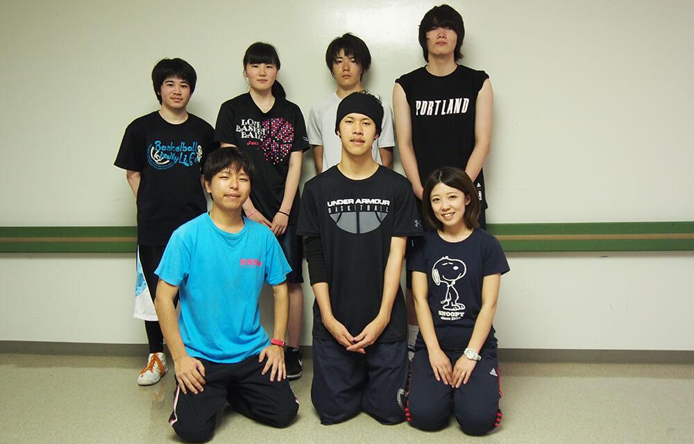 コーチやOBが親身に教えてくれるから安心 さくら国際高等学校 東京校バスケット部