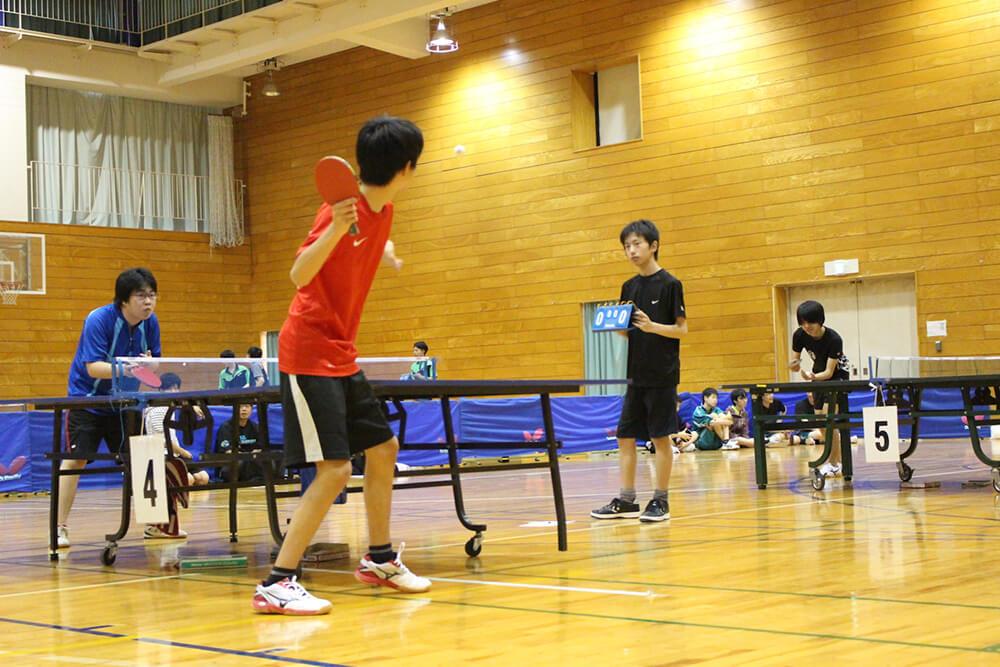 自分のペースで活動できる安心感 さくら国際高校 東京校・卓球部