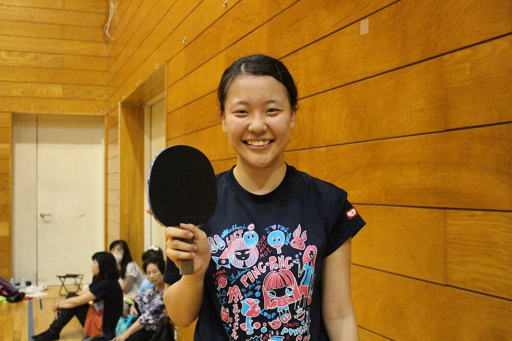 さくら国際高校 東京校・小池塔子さん(3年生)が定通制卓球大会 東京大会で優勝