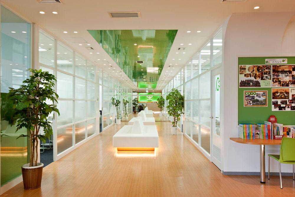 渋谷原宿校のオープンスペース