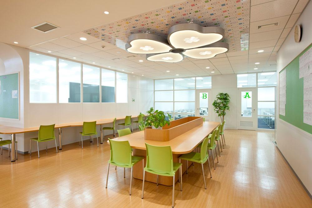 渋谷原宿校の自習スペース