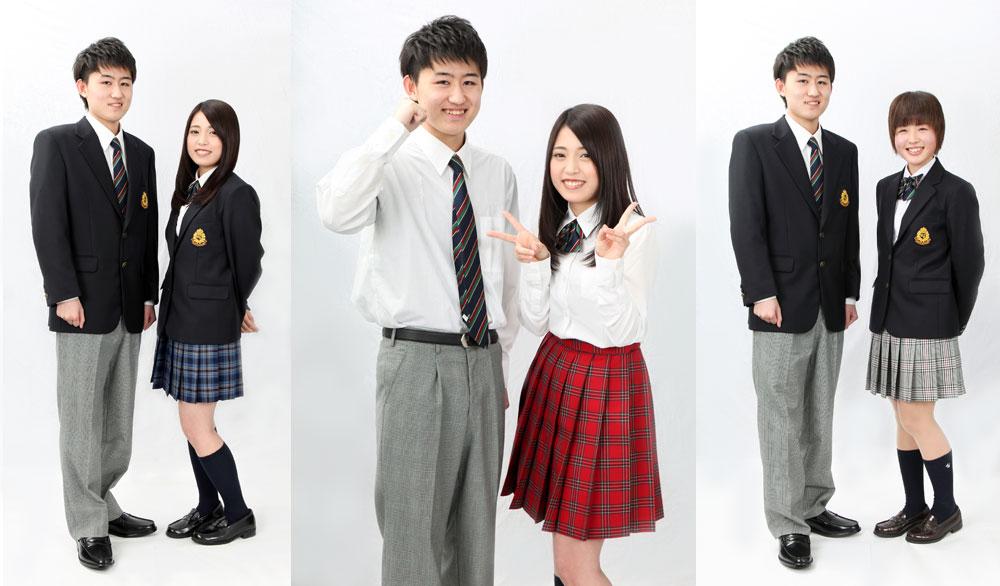 制服がオシャレな翔洋学園高等学校