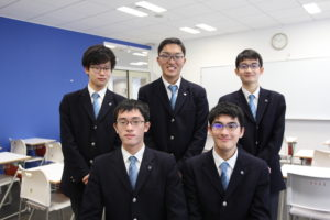 模擬国連に参加したクラーク記念高校の生徒たち
