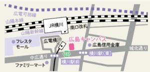 ルネサンス高校広島キャンパス地図